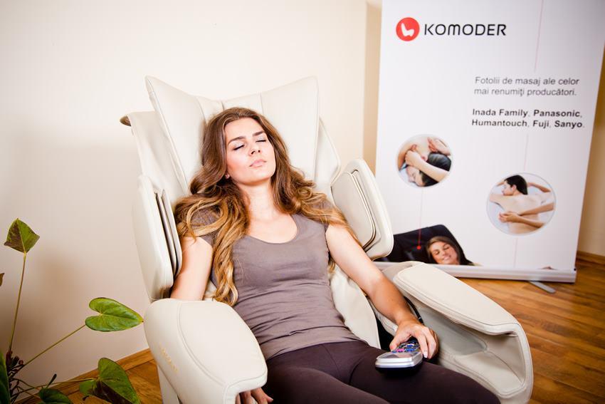6. Fotoliu de masaj pentru relaxare