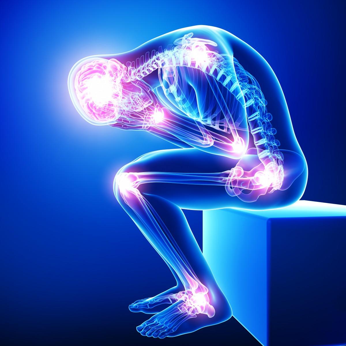 Dureri provocate de fibromialgie