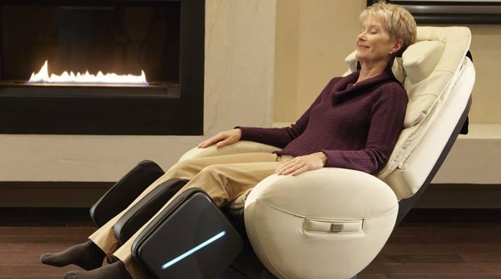 Fotoliu de masaj profesional