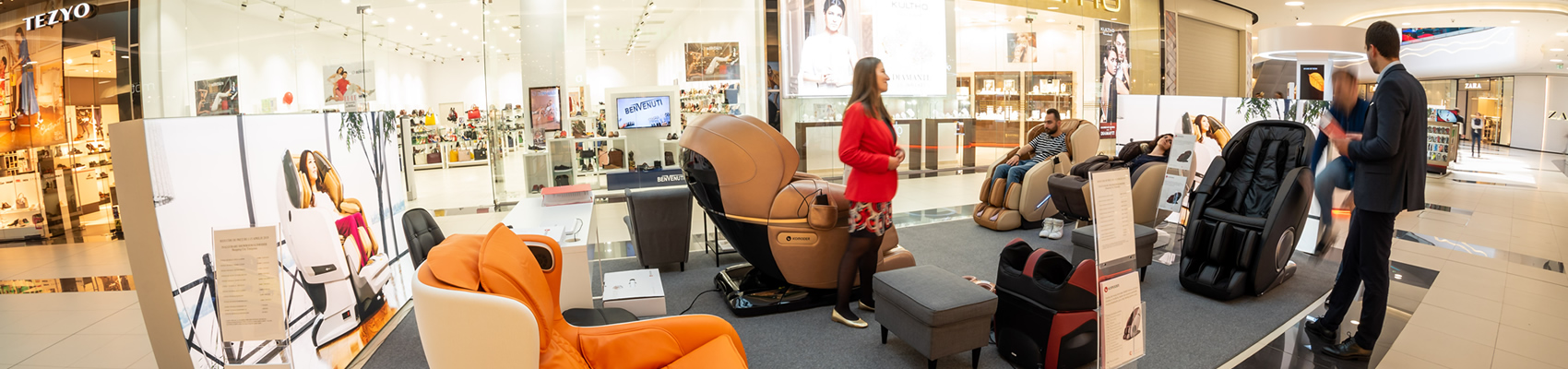showroom Komoder din Shopping City Timisoara