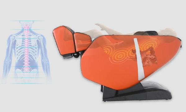 Scanare la fotoliu de masaj Komoder KM300