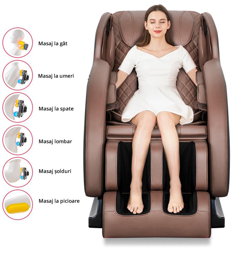 Fotoliu de masaj 4D