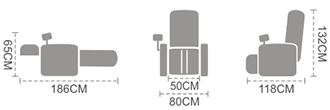 dimensiuni fotoliu irest T102