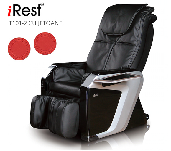Fotoliu de masaj iRest T102