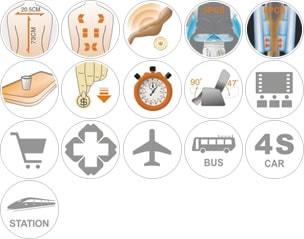 Specificatii fotoliu de masaj comercial