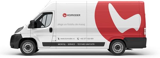 masina de livrare Komoder