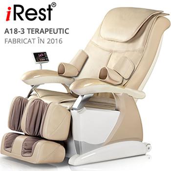 scaun masaj iRest A18-3 Deluxe